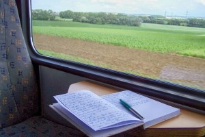 Write-novel-on-a-Train